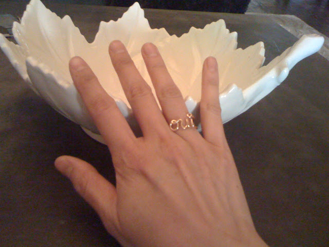Found: Dior Oui Ring Look for Less!! **updated**