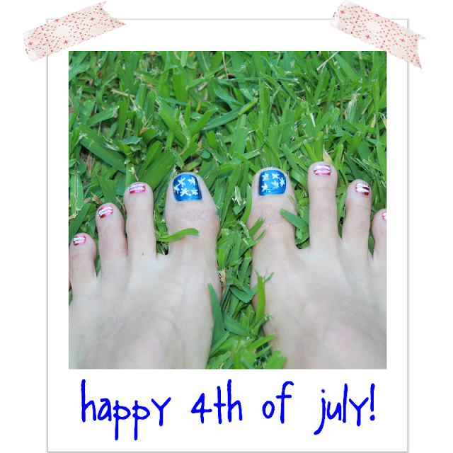 Star Spangled Toes