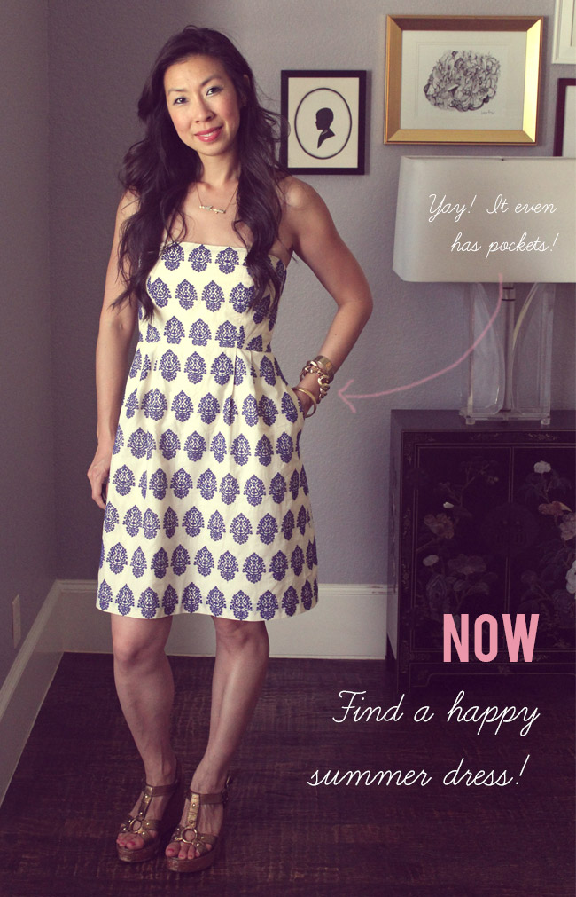 Now and Later // JCrew Audrey Dress