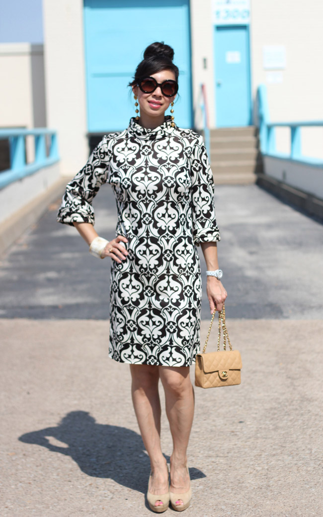 From Grandma with Love // Mod Print Dress