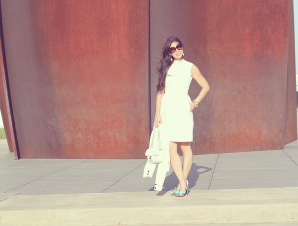 From Grandma with Love // White Dress Suit