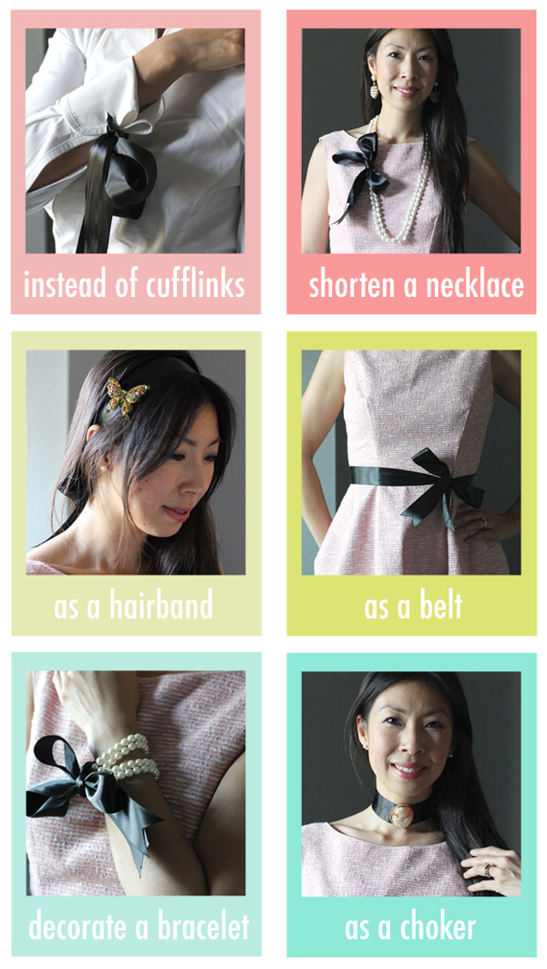 Style Rx // 6 Ways to Wear Black Ribbon