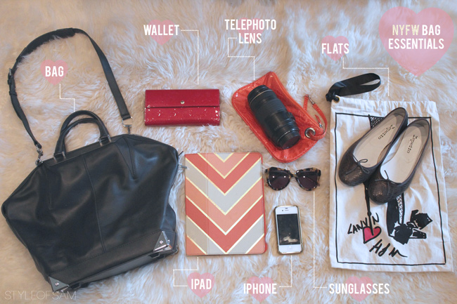 What to bring to IFB Con / Fashion Week