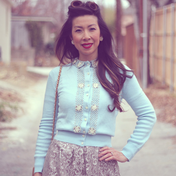 From Grandma with Love // Embellished Sweater
