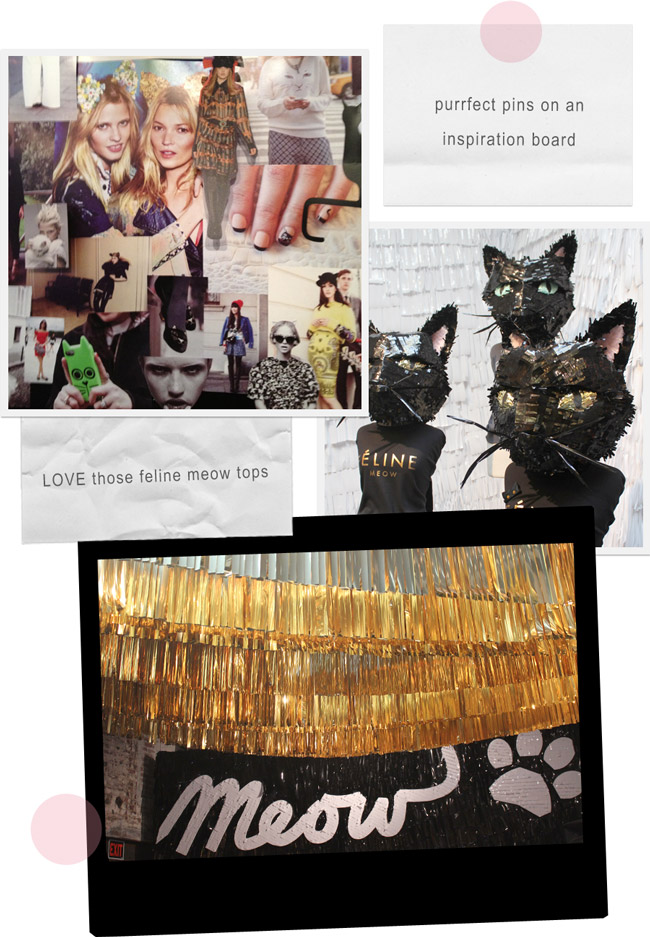 NYFW // Glamour Cats