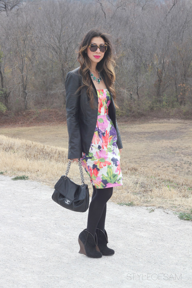 Winter Florals // Edgy