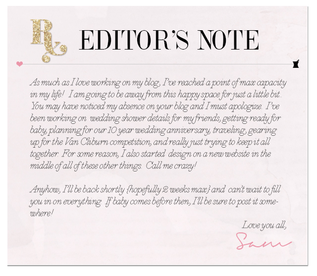 Letter from the Editor // I'll Be Back