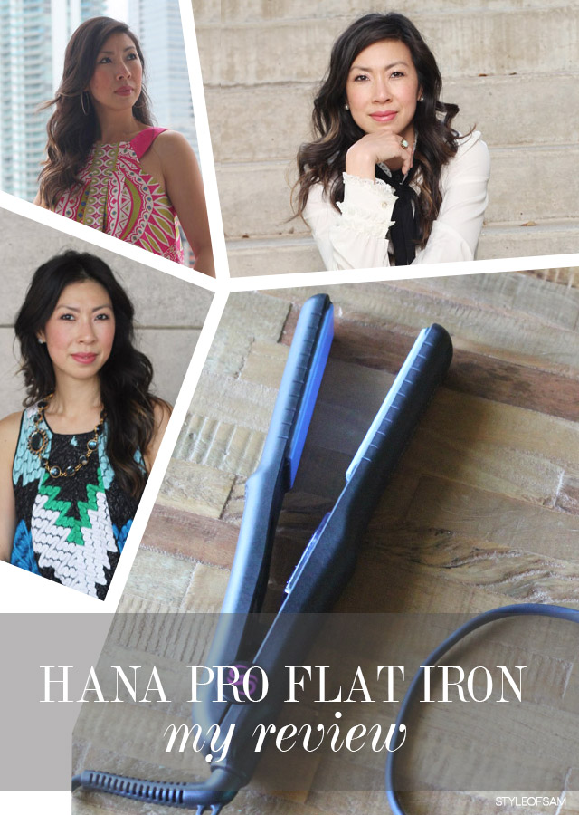 Beauty Rx // Hana Pro Flat Iron Review
