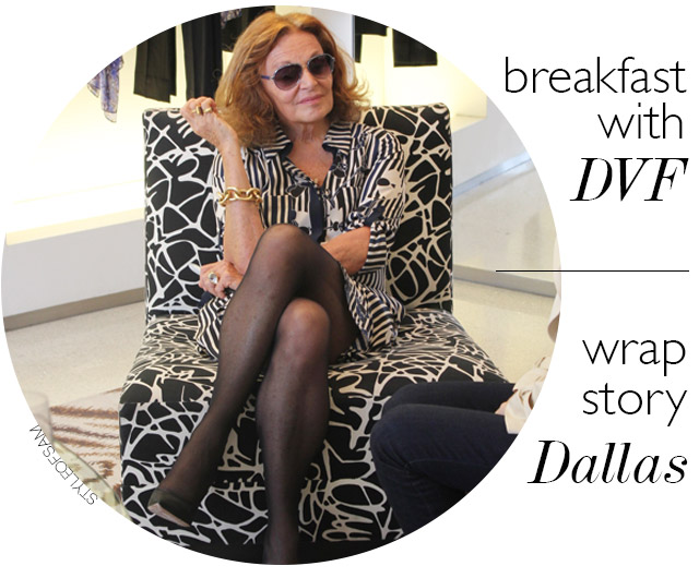 Breakfast with DVF // A Wrap Story