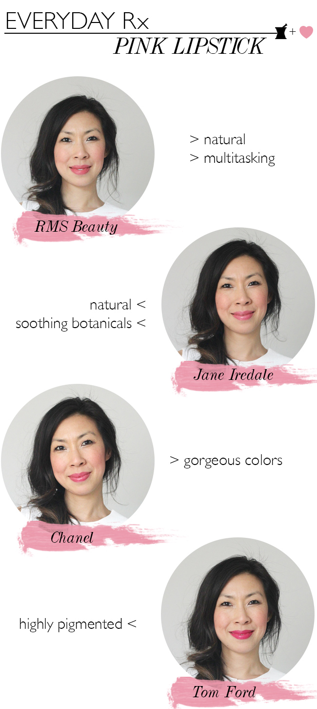 style of sam, best pink lipsticks, everyday rx