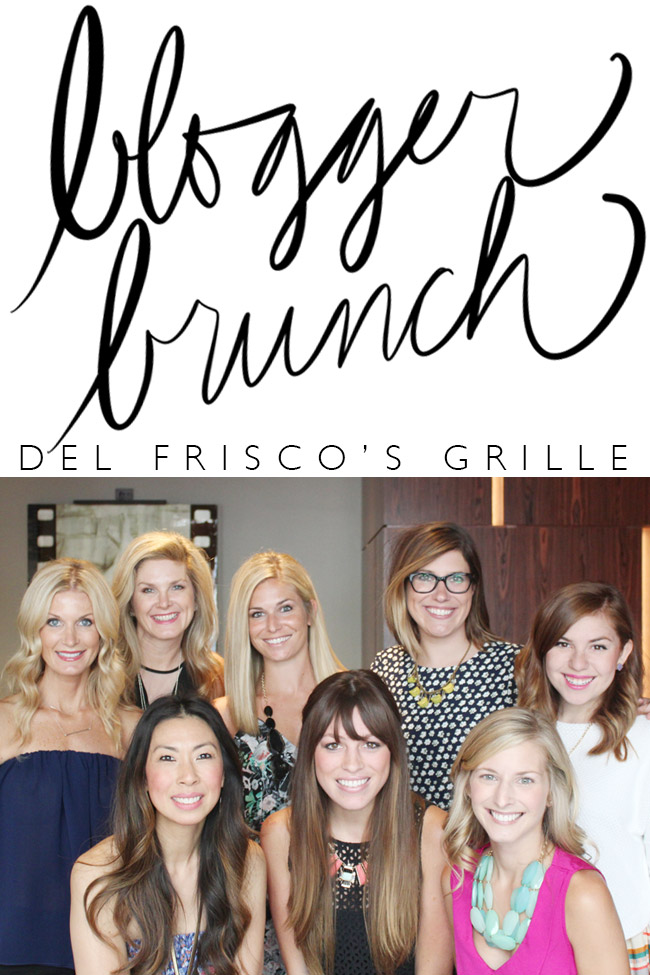 style of sam, fort worth blogger brunch, del frisco's grille, #meatupdrinkup
