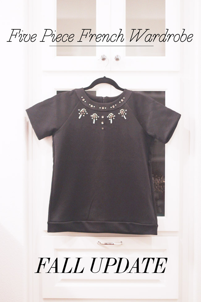 style of sam, five piece french wardrobe, french connection scubalicious top
