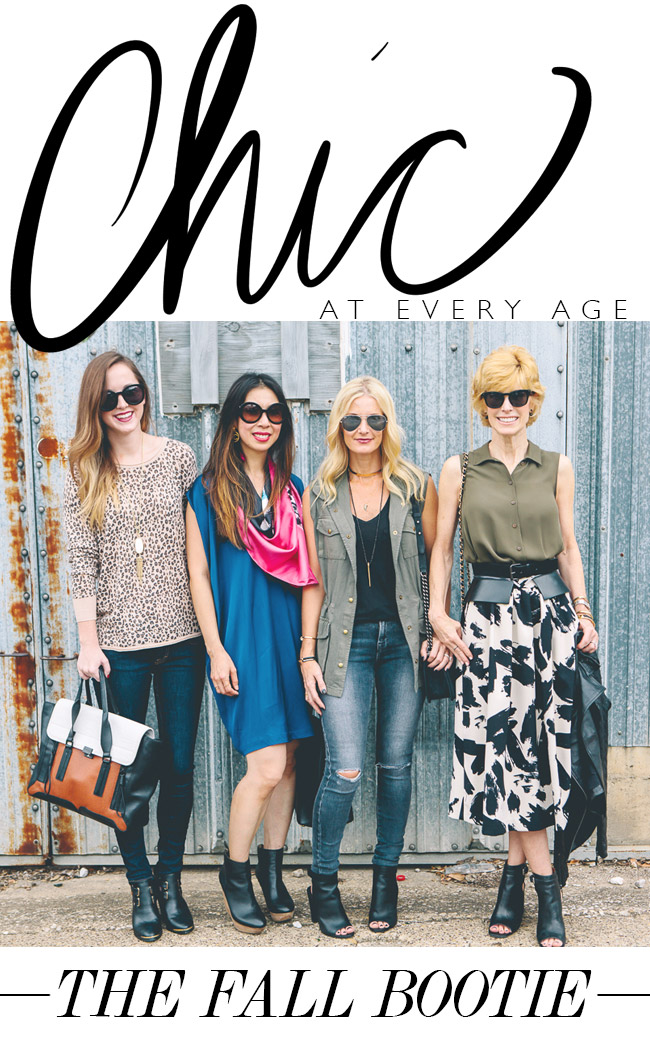 Chic at Every Age // The Fall Bootie