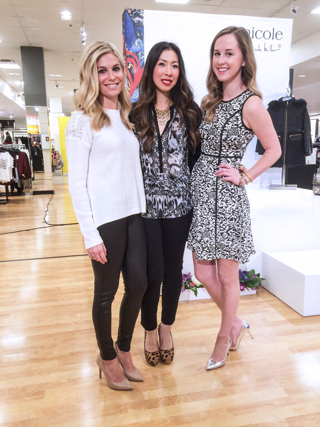 style of sam, nicole miller at jcpenney dallas, nicole by nicole miller holiday looks, nicole miller holiday tips, interview with nicole miller