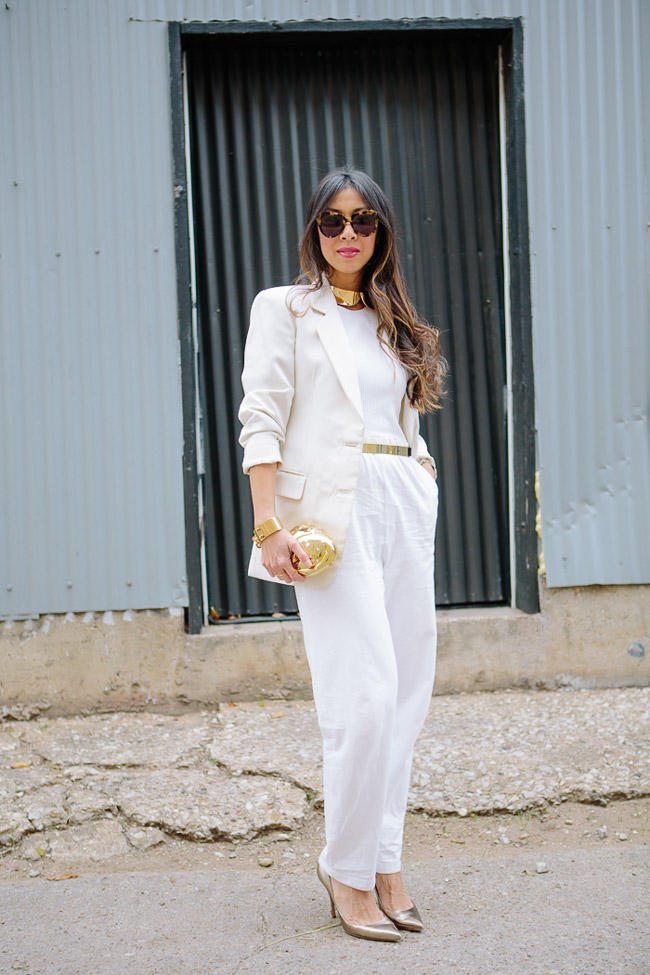 style of sam, how to wear winter white, chic at every age, holiday look