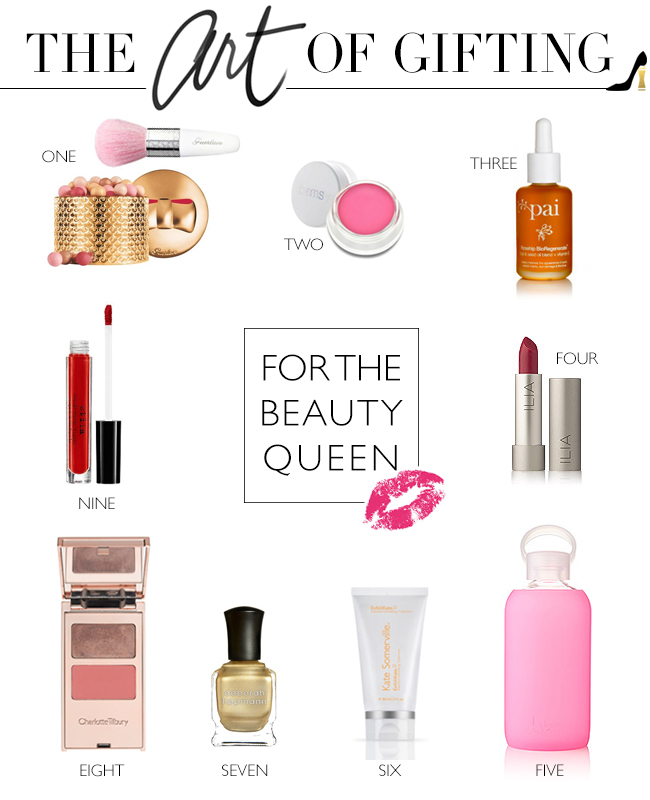 holiday gift guide, beauty gift guide, under $50