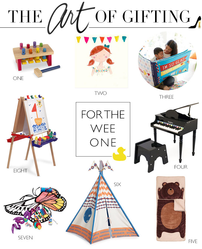 Gift Guide // For the Little Ones