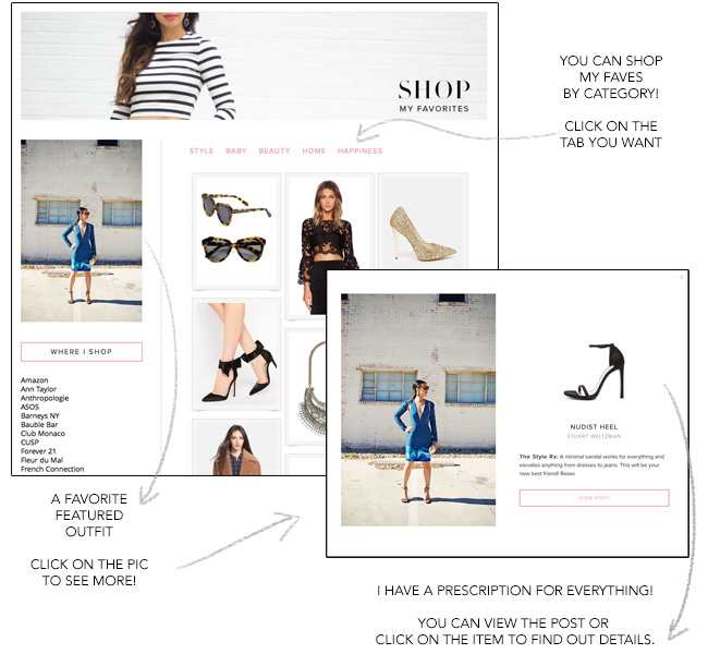 style of sam shop page