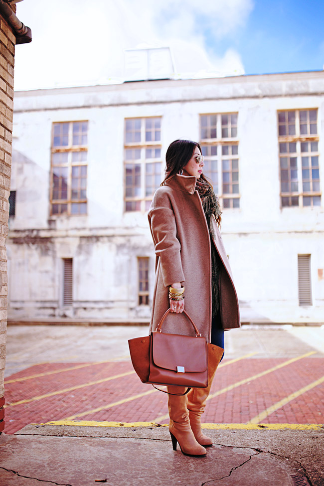 style of sam, max mara ragni coat, how to wear a camel coat, high fashion home boutique