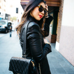 CHIC AT EVERY AGE // The Leather Jacket