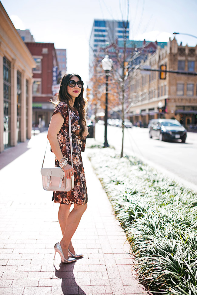 style of sam, how to wear vintage in a modern way, how to wear a floral dress
