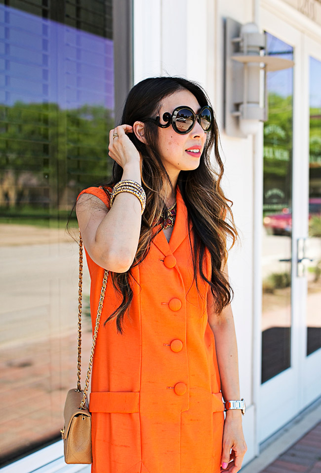 From Grandma with Love // Orange Dress