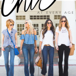 Chic at Every Age // Flare Jeans