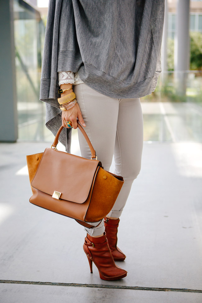 chic at every age, how to wear skinny jeans in fall, dl1961 margaux ankle skinny jeans, celine trapeze bag, givenchy booties