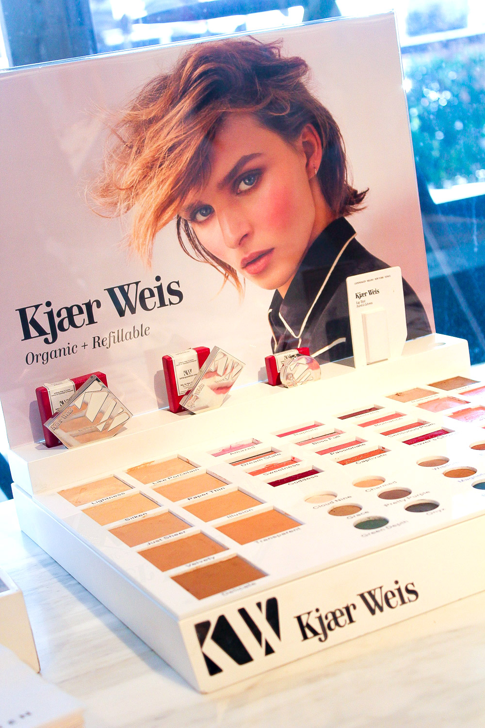 makeover and interview with kirsten kjaer weis