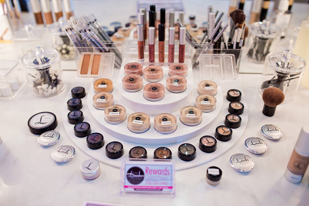 The Lash Lounge Alliance Review, inside the boutique