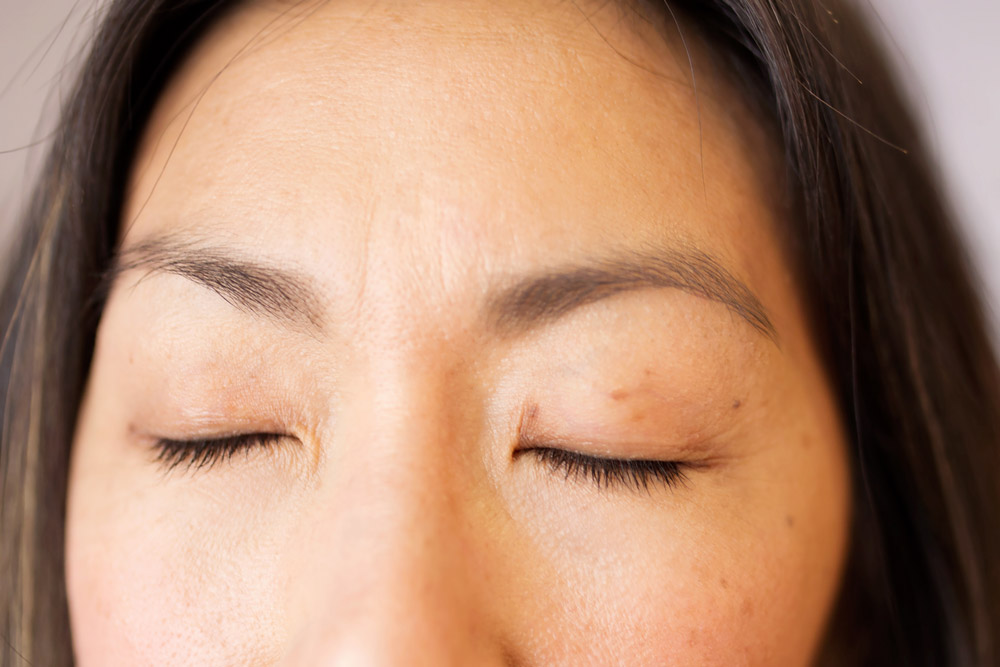 The Lash Lounge Alliance Review, before lash extensions
