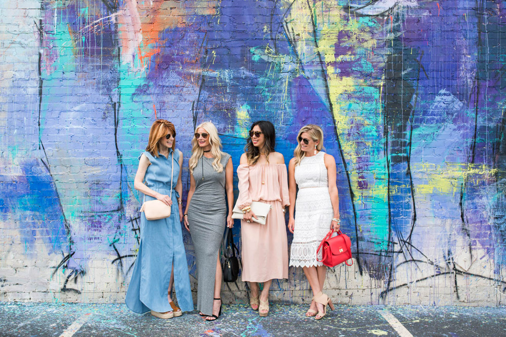 style at any age in maxi and midi dresses