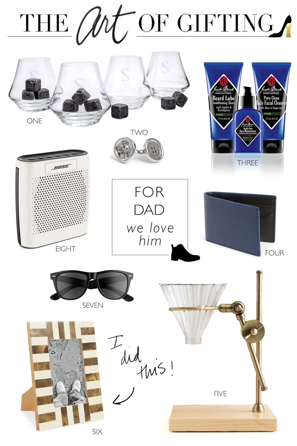 GIFT GUIDE // Father's Day Ideas