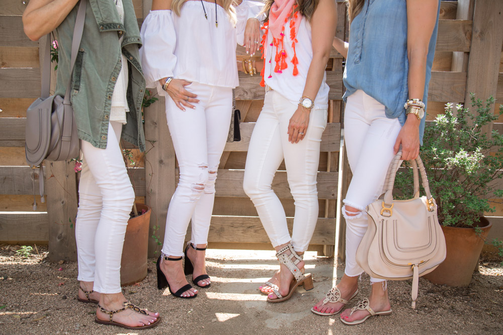 white jeans outfit ideas