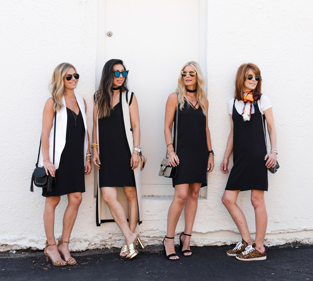 4 ways to wear a slip dress, style at any age