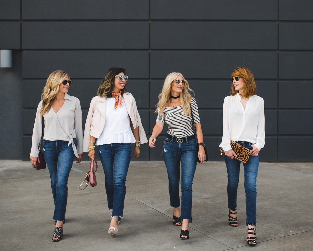 Chic at Every Age // Frame Jeans