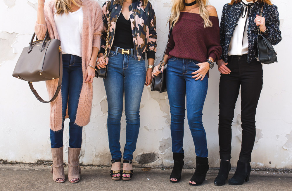 chic at every age blogger friends wearing NYDJ uplift jeans