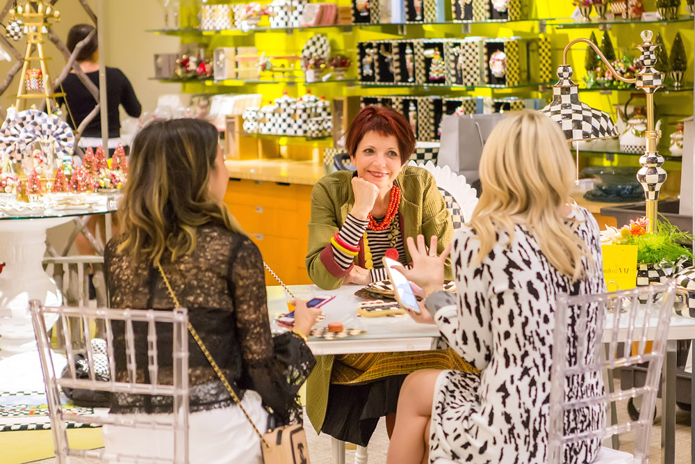 interview with rebecca proctor of mackenzie childs at neiman marcus fort worth