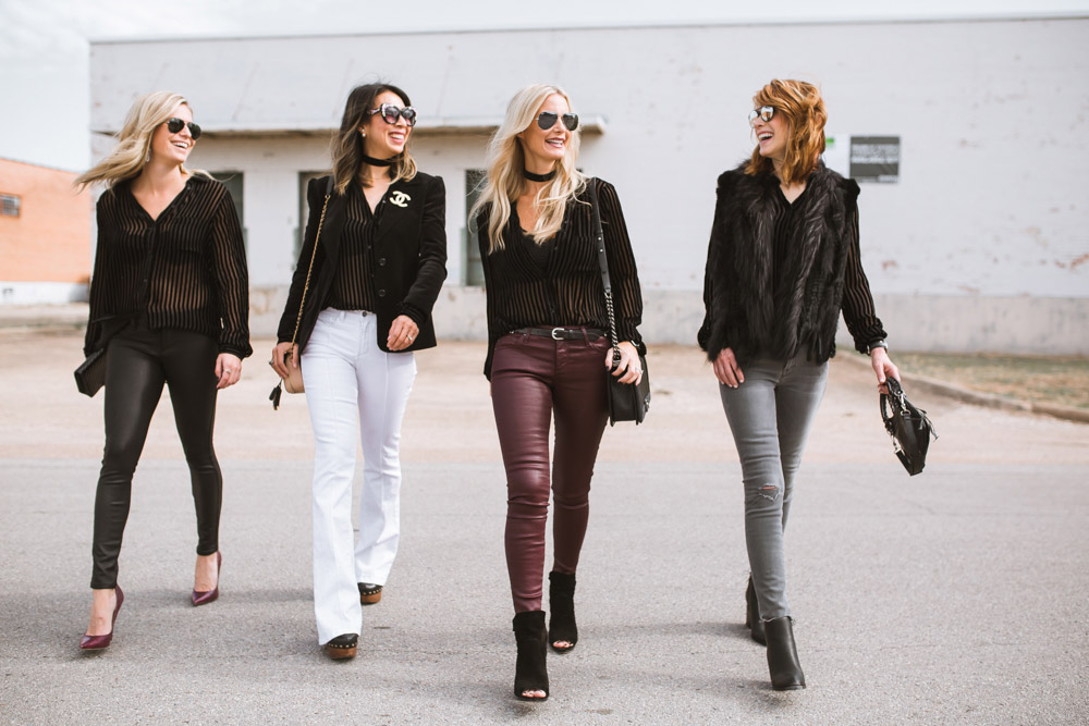 Chic at Every Age // Velvet Top