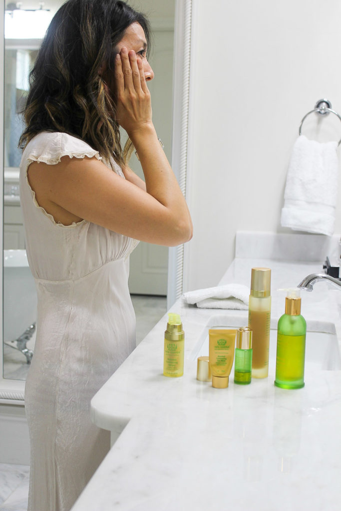 tata harper skincare routine for day and night