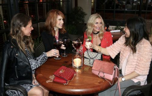 chic at every age galentines day drinks