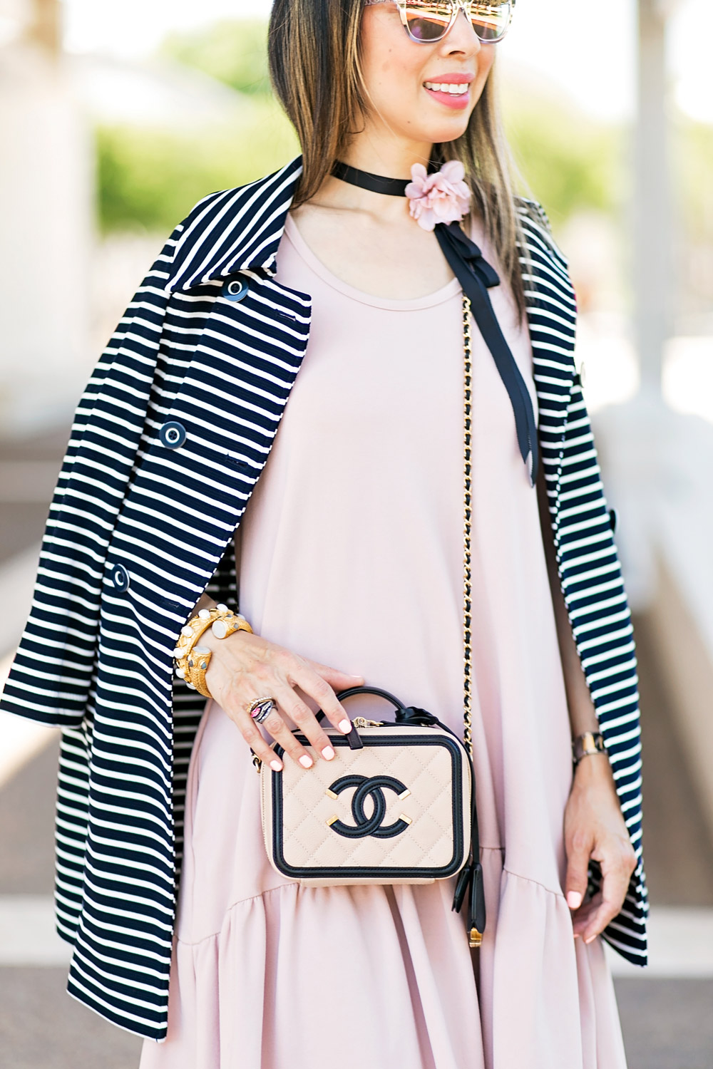 Blush and Stripes