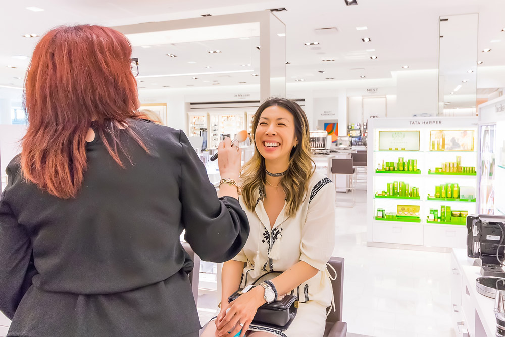 la metier de beaute makeover neiman marcus fort worth