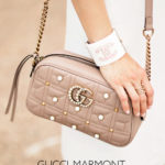 What's In My Bag // Gucci Marmont Pearl Camera Bag