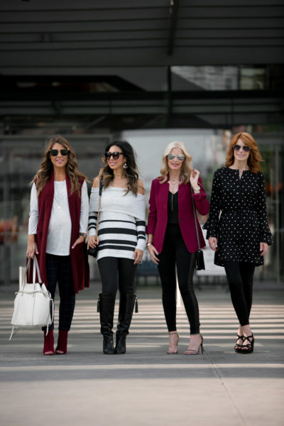 Chic at Every Age // How to Wear LOFT Leggings
