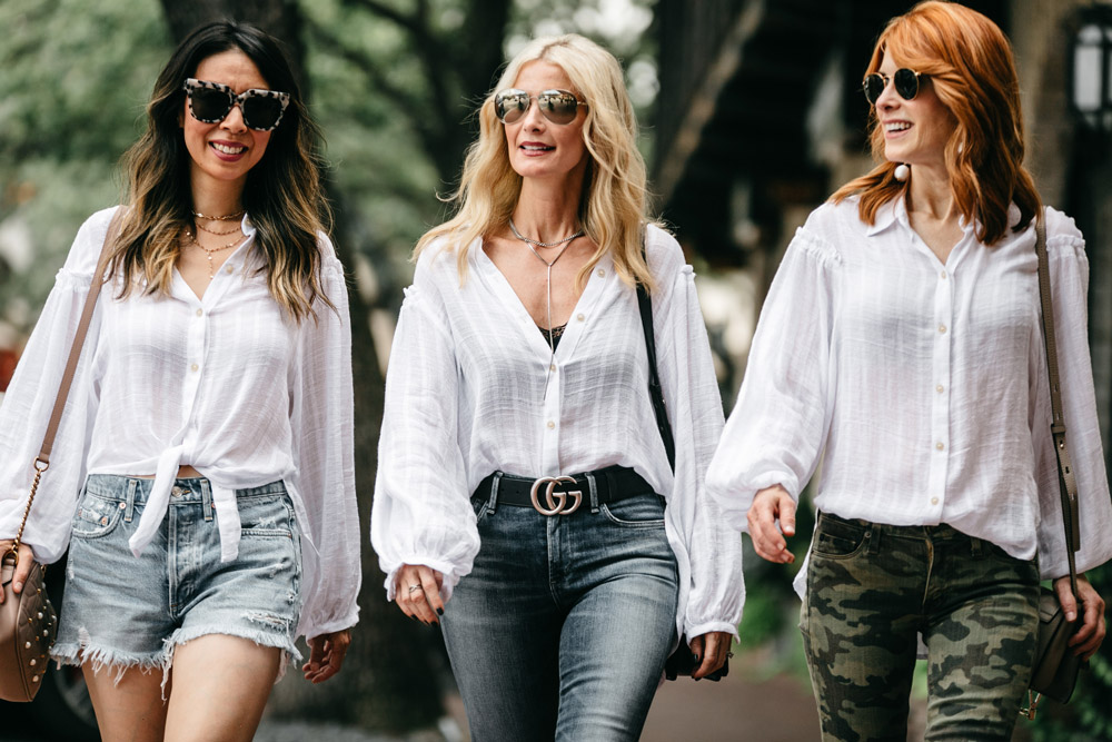 free people headed to the highlands button up blouse three ways to wear it labor day outfit ideas