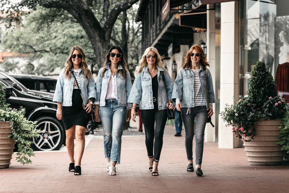 four ways to wear madewell bell sleeve denim jacket chic at every age