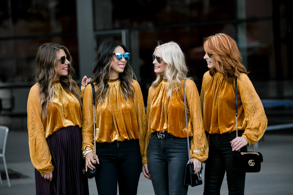 how to wear marigold free people dream team velvet lace top