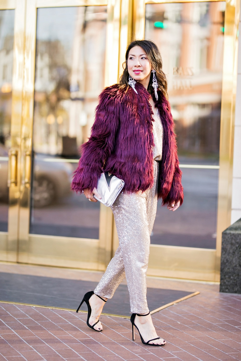 Style Of Sam New Years Eve Free People Sequin Jumpuit