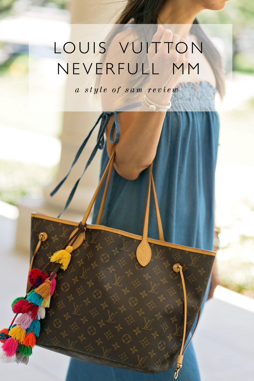 494f06a8fdc6 LV Neverfull MM bag review